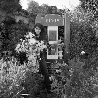 Nancy Nunez on the 11th anniversary of Elvis' death Elvis Memorial Melbourne 1988