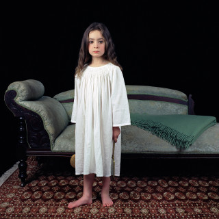Olympia as Lewis Carroll's Irene McDonald (with green chaise) 2003