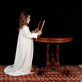 Olympia as Lewis Carroll's Julia Arnold (Little Vanity) 2003