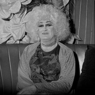 Dulcie du Jour at Trish's Cafe, Melbourne, 1988