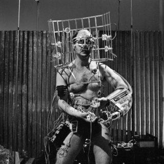 Stelarc, Performance artist, 1990